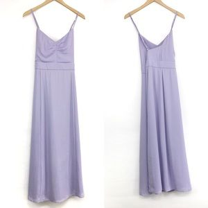 FAME & PARTNERS V Neck Formal Dress Lavender 16